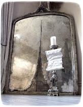 """Das neueste Projekt  im Atelier - Herstellen eines """"antiken"""" Spiegels"""