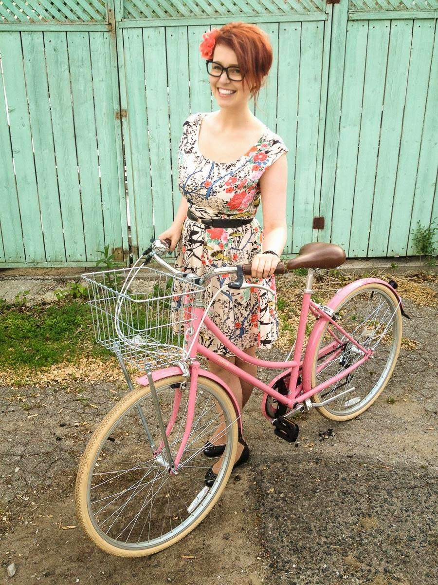 Bobbin Metropole - pale rose pink