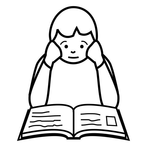 Dibujo de estudiar - Imagui