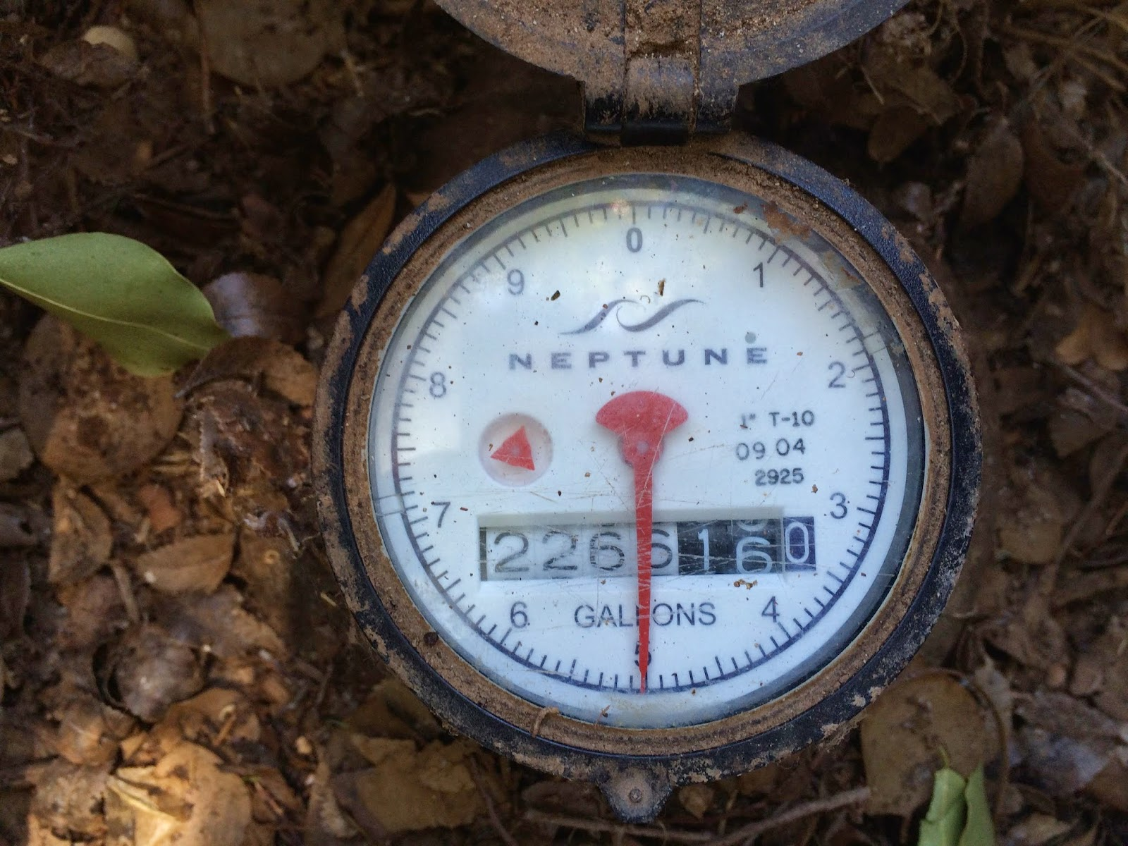 House Water Meter : Utilities council epcor water
