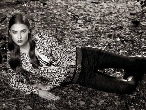 Spezzato look feminino outono inverno 2015 blusa calça e acessórios