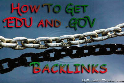 5 Smart Techniques to get .EDU AND .GOV BACKLINKS for your Blog ...