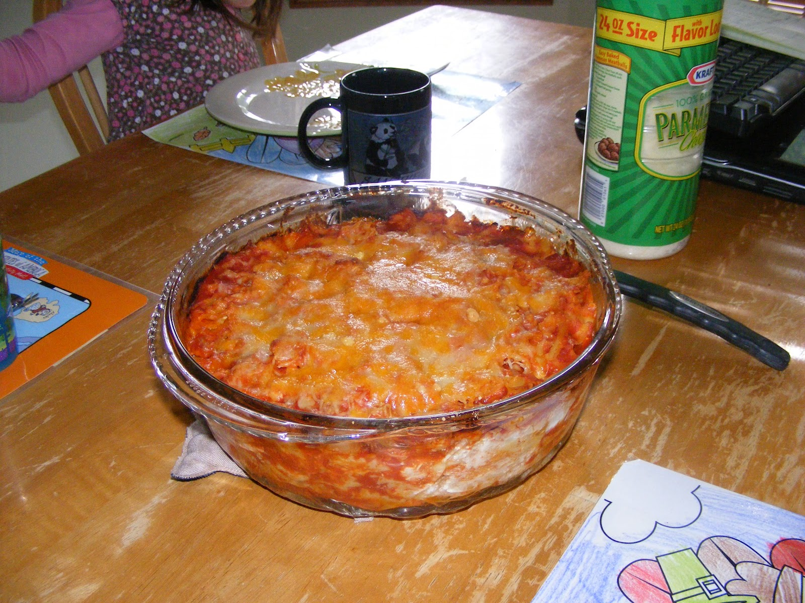 when i moved out on my own my mom passed along her lasagna recipe that ...