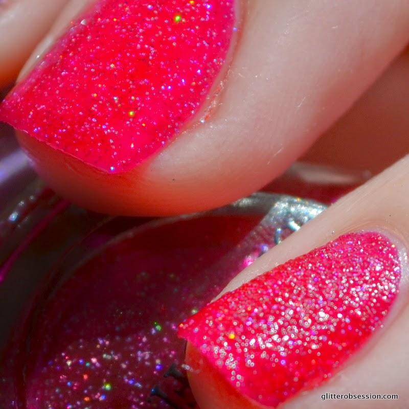 NOPI My Cherry Amour, NOPI My Cherry Amour swatch, NOPI My Cherry Amour nail swatch