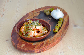 King Prawns in Garlic Butter ~ Simple Food