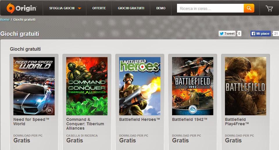 scaricare giochi gratis per mac