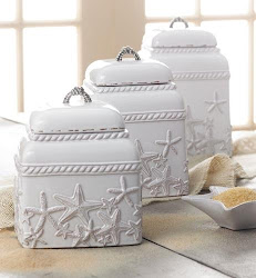 Sea Star Canister Set