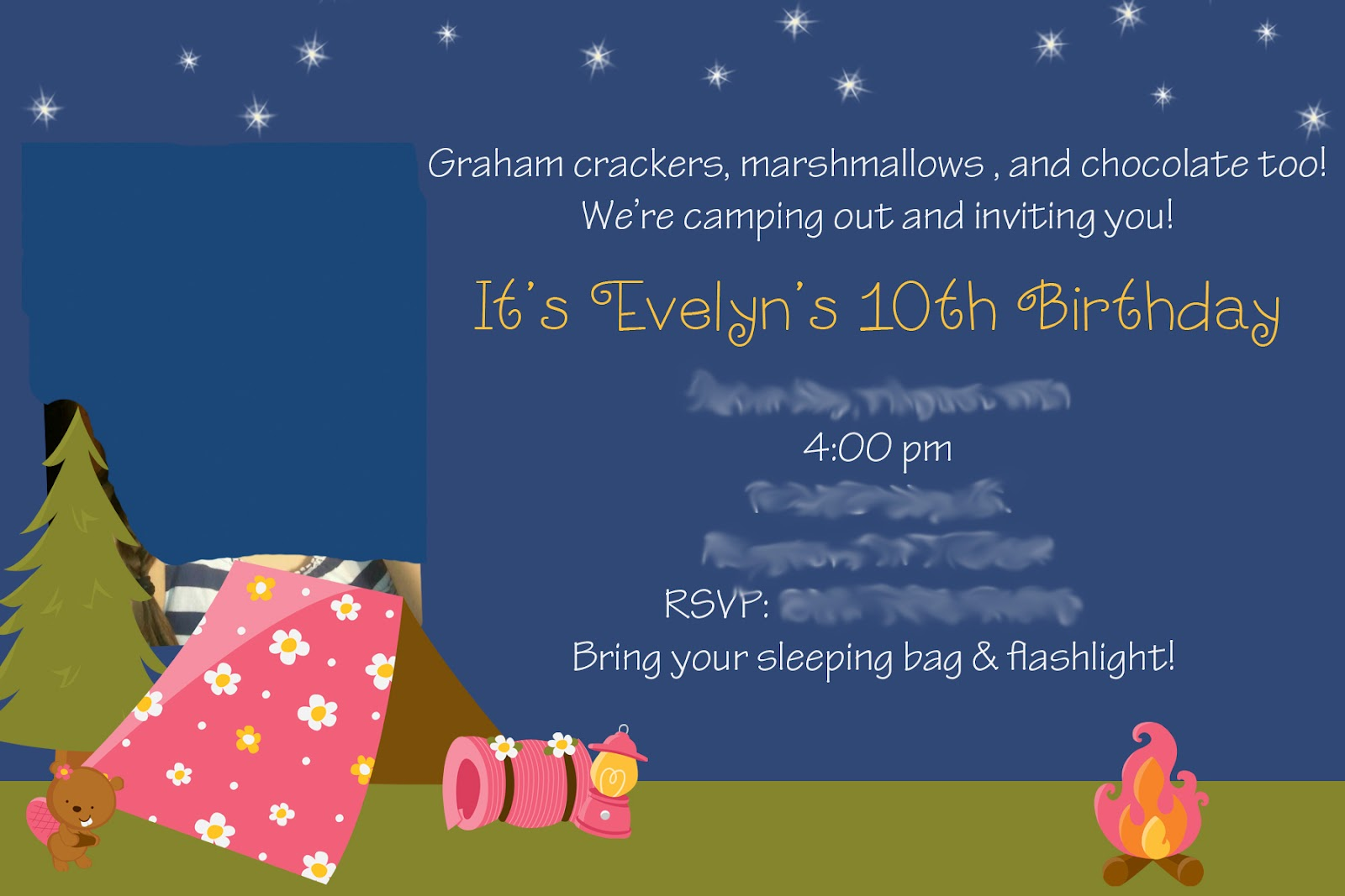 Invitations For Sleepover Party with perfect invitation example