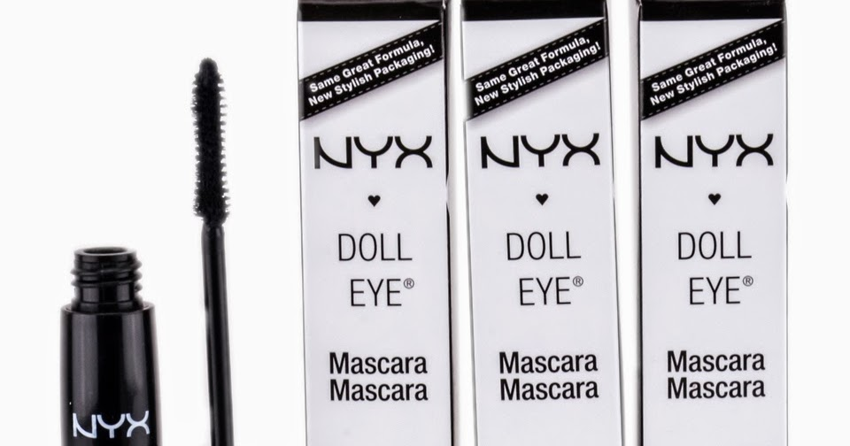 Nyx Doll Eye Mascara Waterproof hd pictures