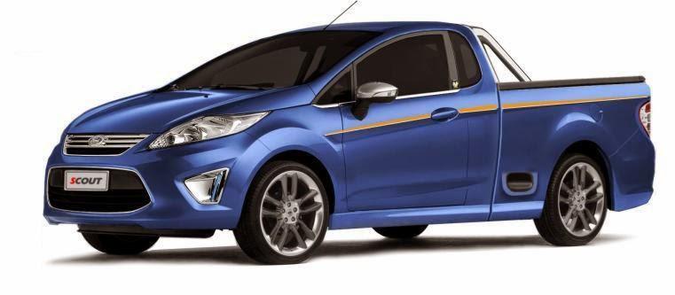 Nova Ford Courier 2013 picape pequena mais barata do Brasil