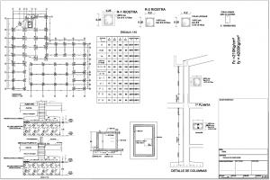 planos estructurales planos y elementos estructurales