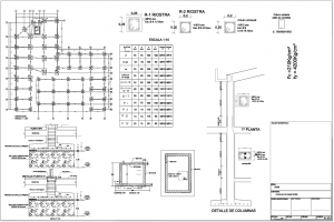 Planos Estructurales Pdf Of Planos Estructurales Planos Y Elementos Estructurales
