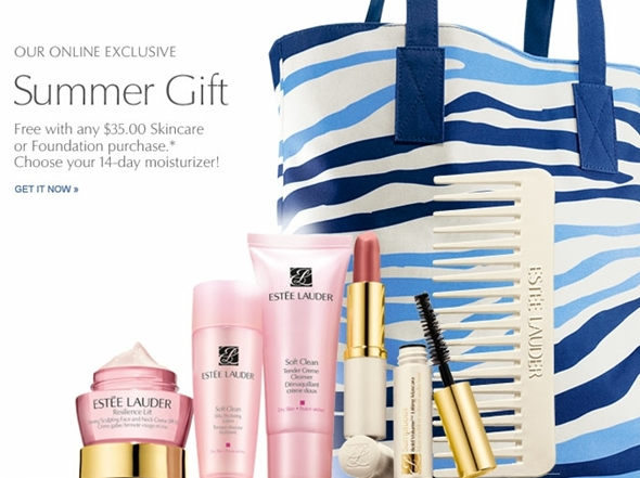 Estée Lauder FREE Summer Gift With Purchase