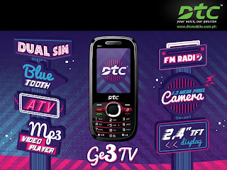 DTC GE3 TV Phone from DTC Mobile