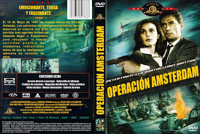 Operación Amsterdam (1959) - Caratula - Cine clásico