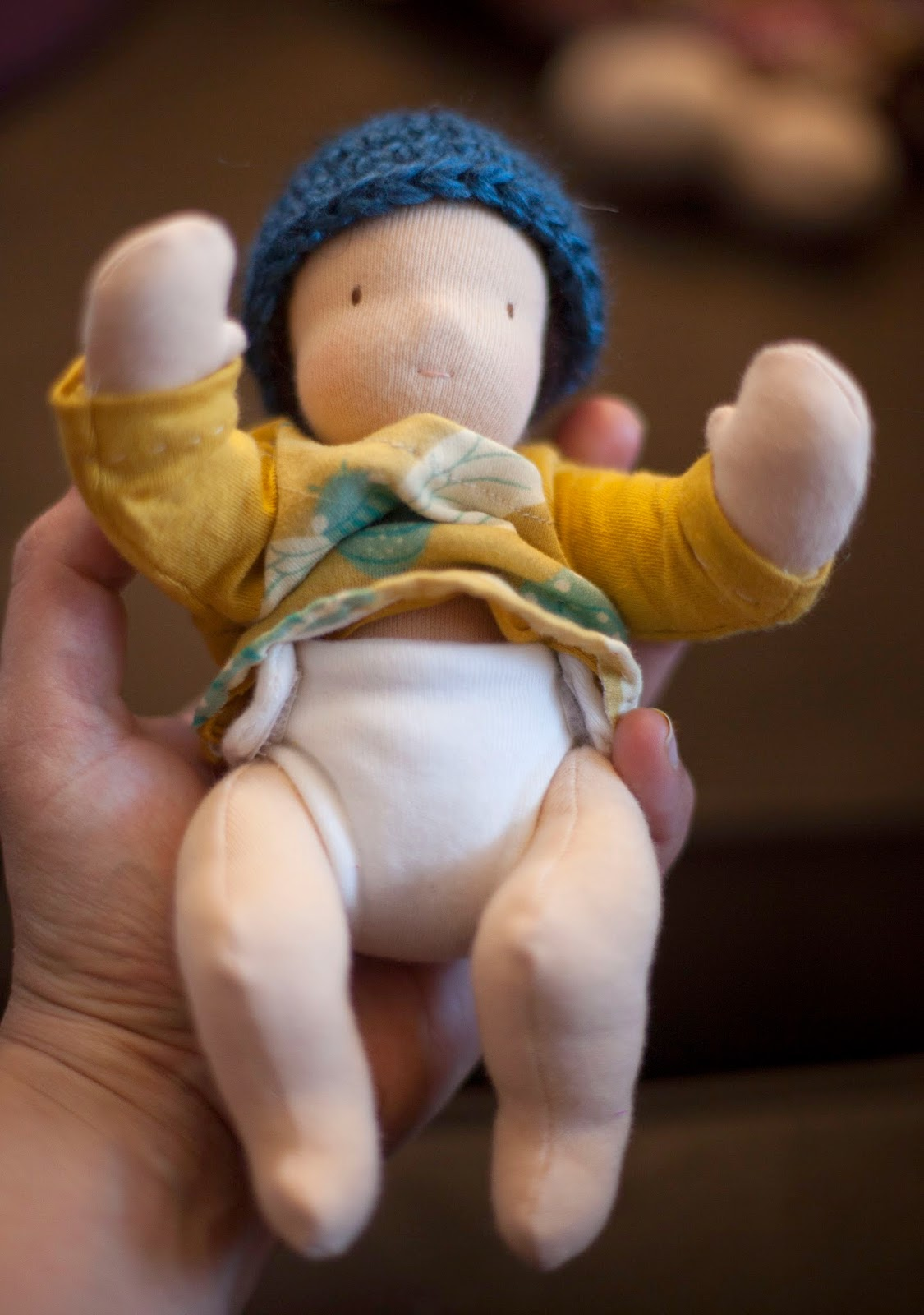 UNLIKELY: Tiny Waldorf Baby Doll