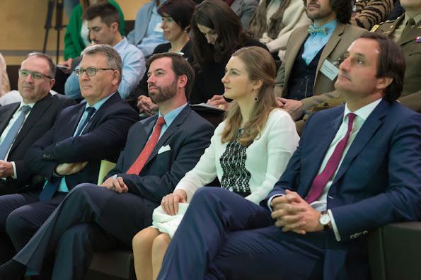 """HRH Hereditary Grand Duke Guillaume and HRH Hereditary Grand Duchess Stéphanie attended the 1,2,3 GO Social event """"Investing in social impact - Social entrepreneurs"""