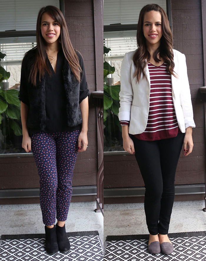 Jules in Flats December 2015 Monthly Outfit Roundup