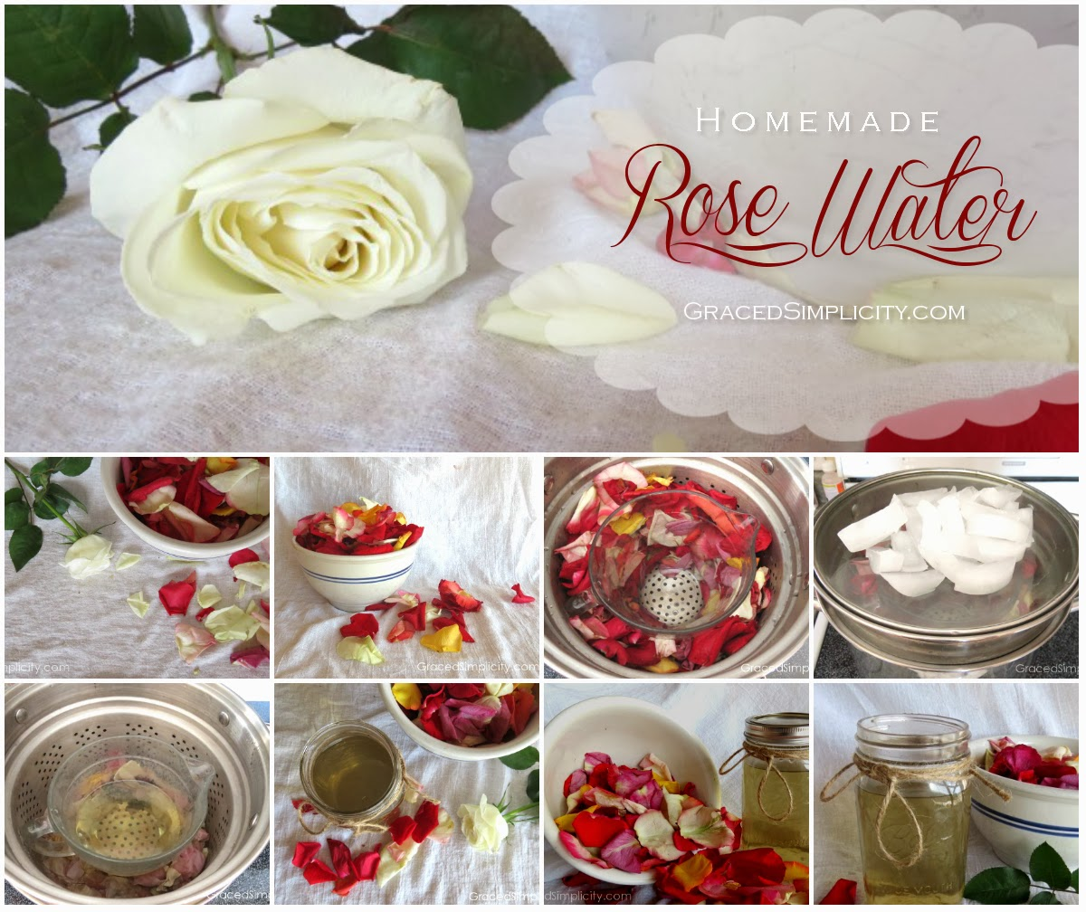 How To Make Rose Water: Homemade Rose Water {& Other Hydrosols}