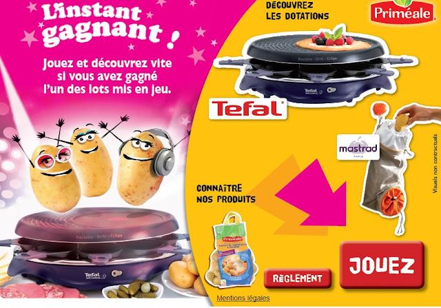 30 appareils raclette Tefal