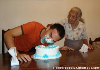 cumpleaños, cumpleaños feliz, tortazo, cara en pastel
