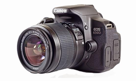 Daftar Harga dan Spesifikasi Kamera Canon EOS 650D Baru