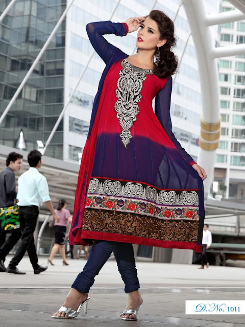 Designer Anarkali Salwar Kameez, Fancy Embroidery Anarkali Salwar Suits in Chennai