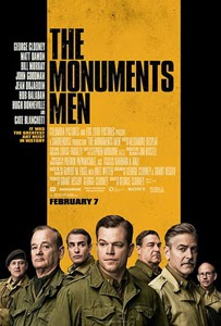 Poster original de Monuments Men