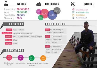 Contoh CV Nonformal yang Menarik