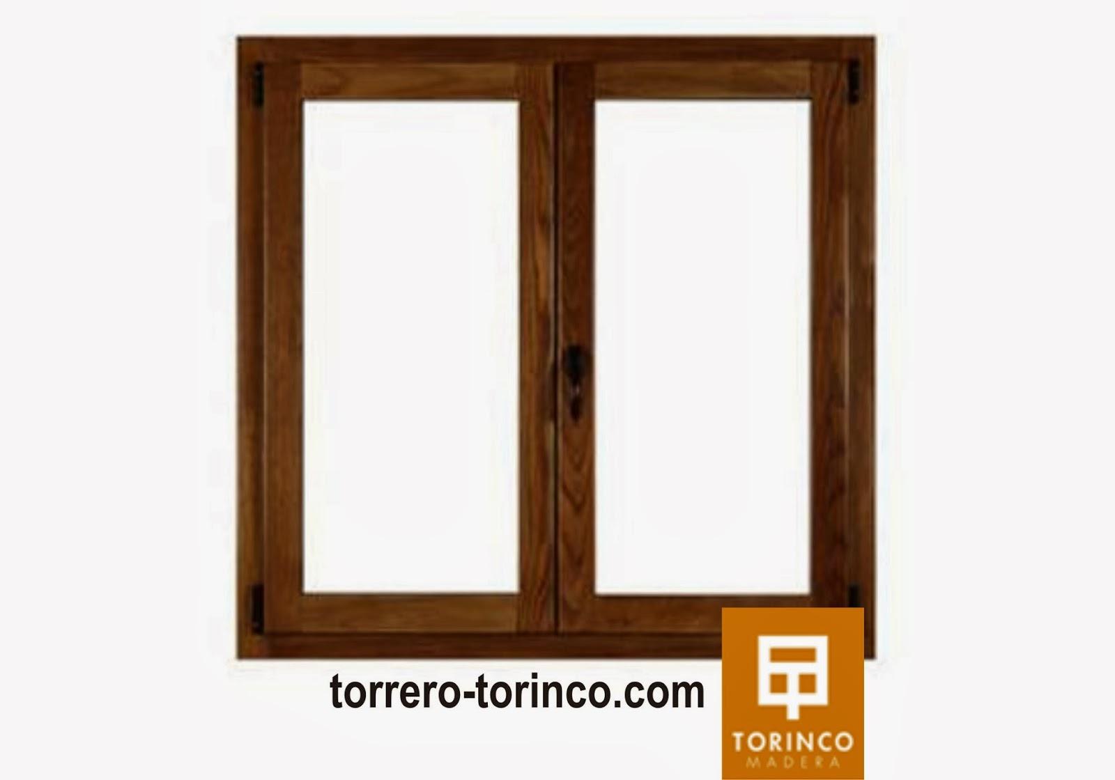 ventana aluminio madera