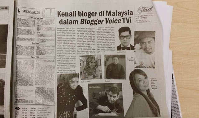 Blogger Voice Utusan Sarawak
