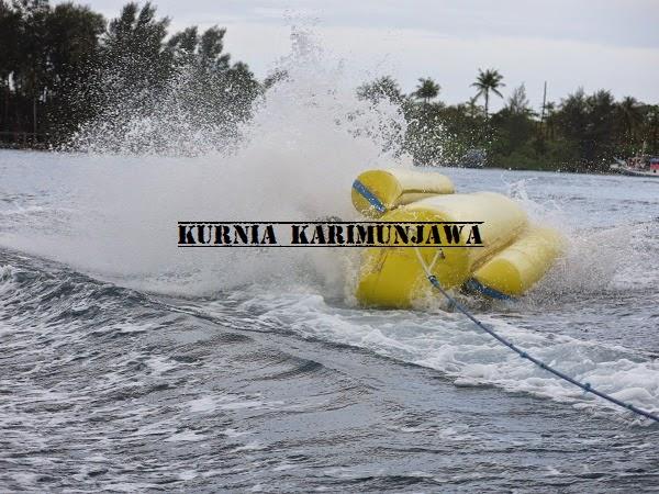 keseruan main banana boat karimunjawa