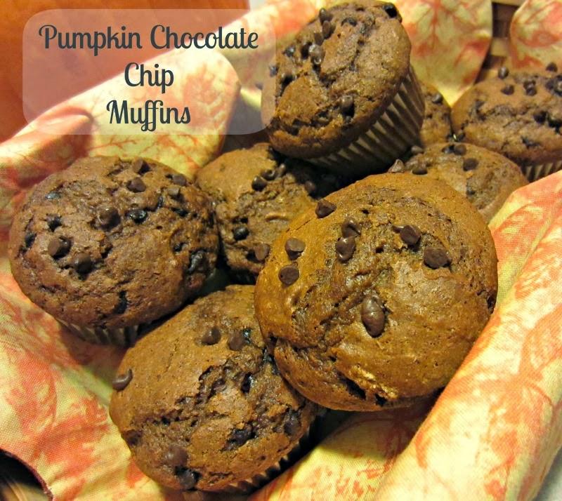 Renee's Kitchen Adventures: Pumpkin Chocolate Chip Muffins