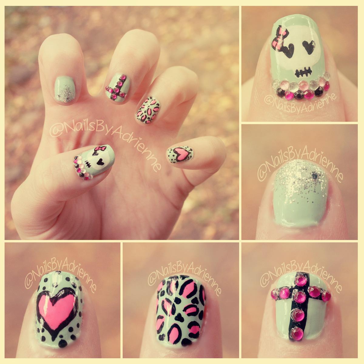 Nails By Adrienne : NOTD: Mint Manicure For Talia Joy