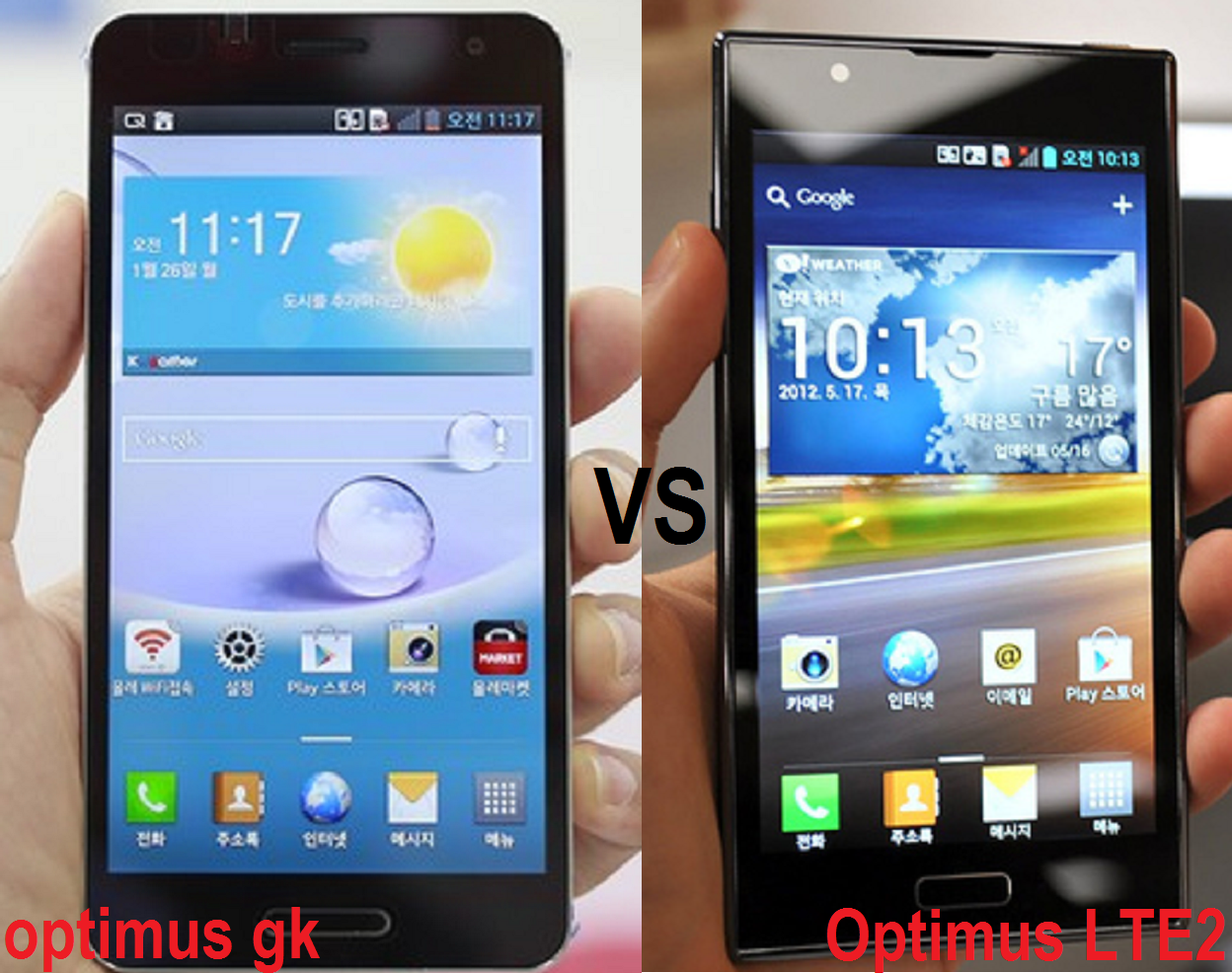 LG Optimus GK brings things back down to a more manageable