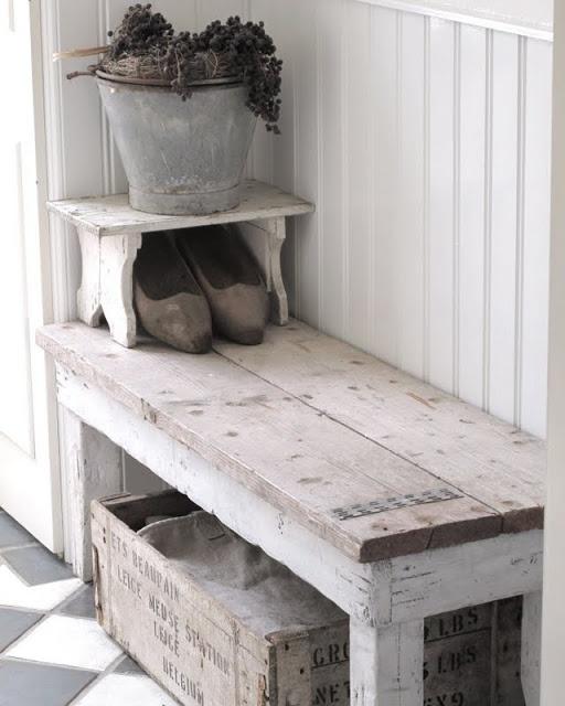 Moois en liefs steigerhout for Decoratie gang
