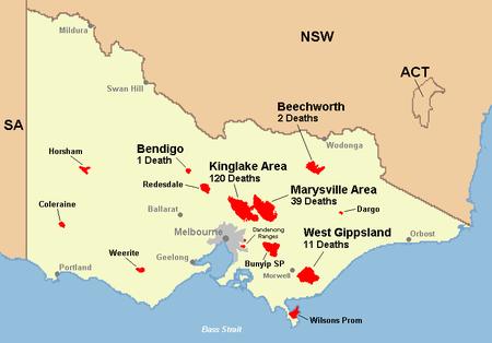 Relieving end to catastrophic bushfires | Black Saturday