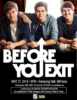 Before You Exit Live in Manila 2014