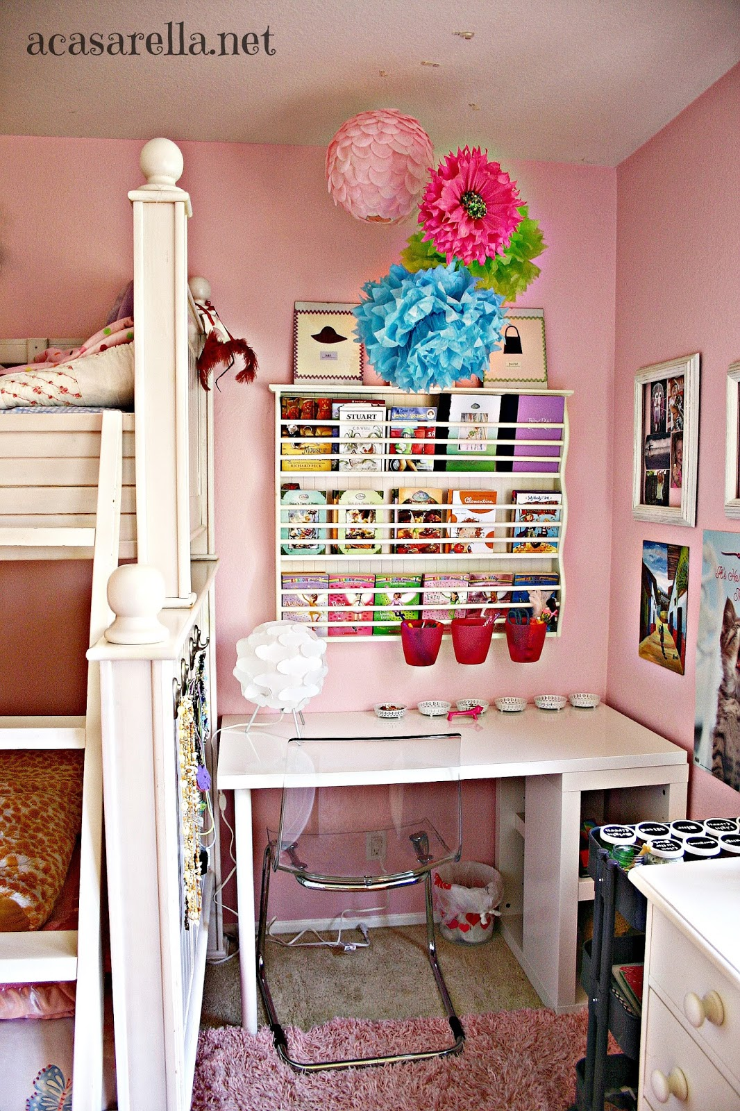 Small space makeover from reading nook to desk space 39 a for Building a desk in a nook