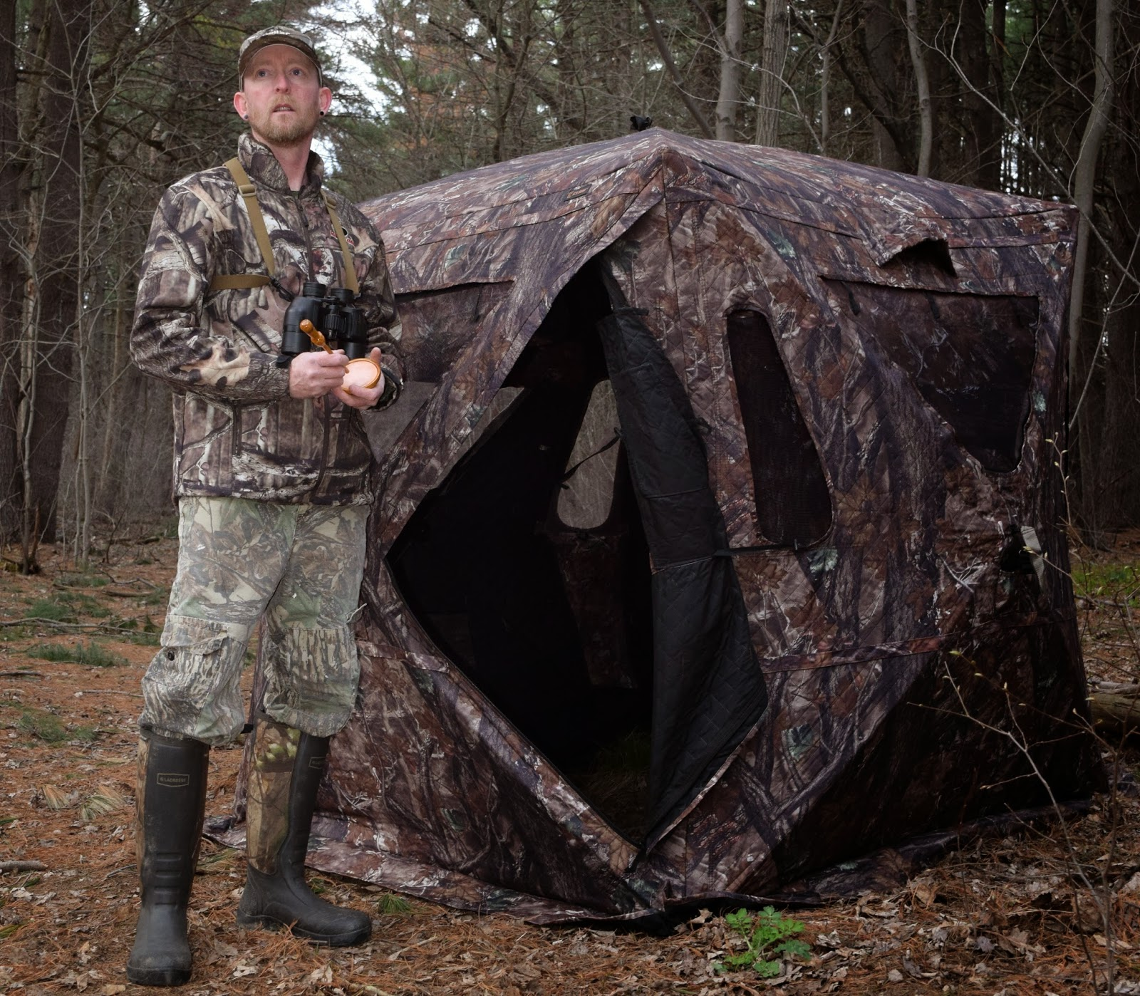from make muddy hunting blinds mistakes blind bow when outdoors hunters turkey ground a