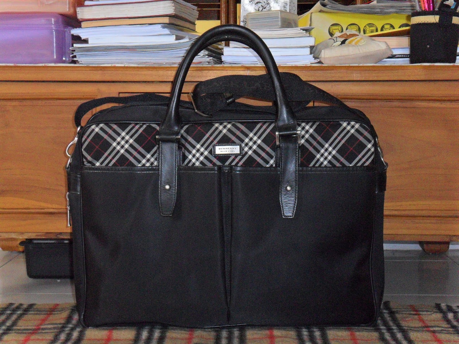Burberry Black Label Laptop Bag