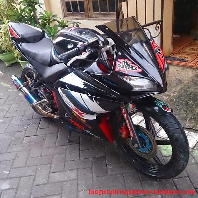 Modifikasi Yamaha Vixion R125 Konsep