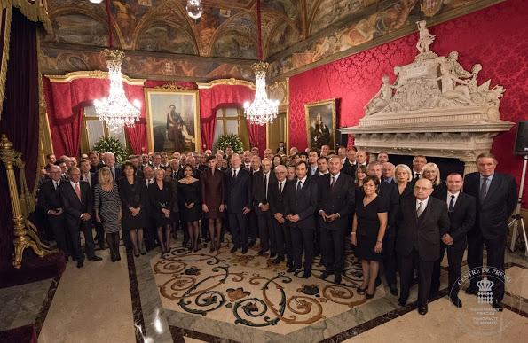 Prince Albert And Princess Charlene Presented Orders