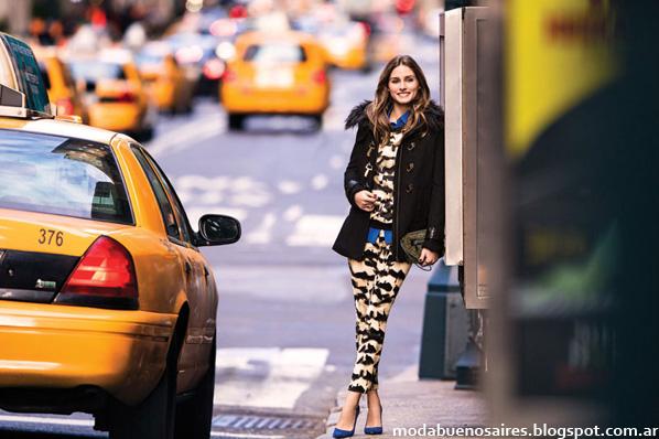 Moda otoño invierno 2014, Campaña marca Vitamina, con Olivia Palermo.