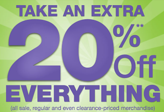 September kohl s coupon 20 percent off shopping pass frugality is