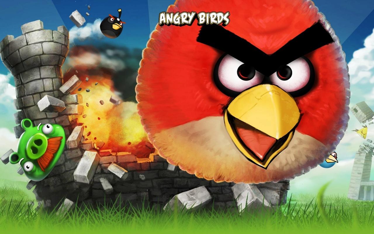 غاضب الطيور