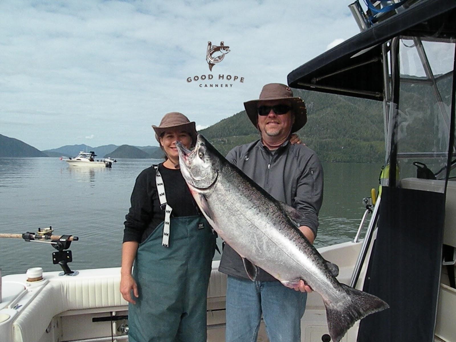 salmon fishing essay
