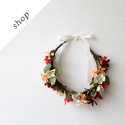 Floral Crown Flower Headband by d3bz