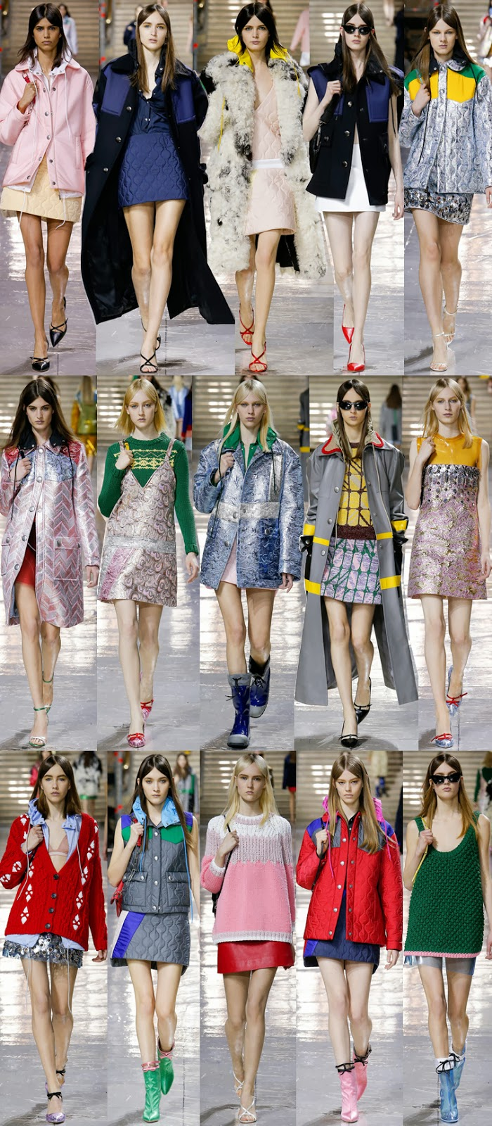 Miu Miu fall winter 2014 runway collection, PFW, Paris fashion week, FW14, AW14, Miuccia Prada