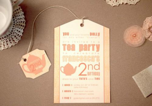 Plan a Unique Tea Party Bridal Shower – Bridal Shower Invitations Tea Party Theme